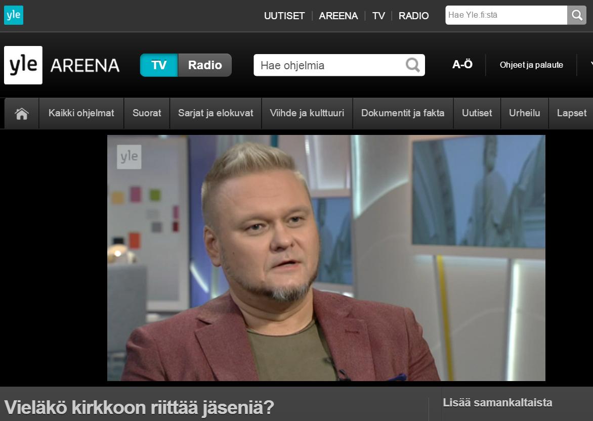 Petri Karisma YLE Aamu-tv 02122015